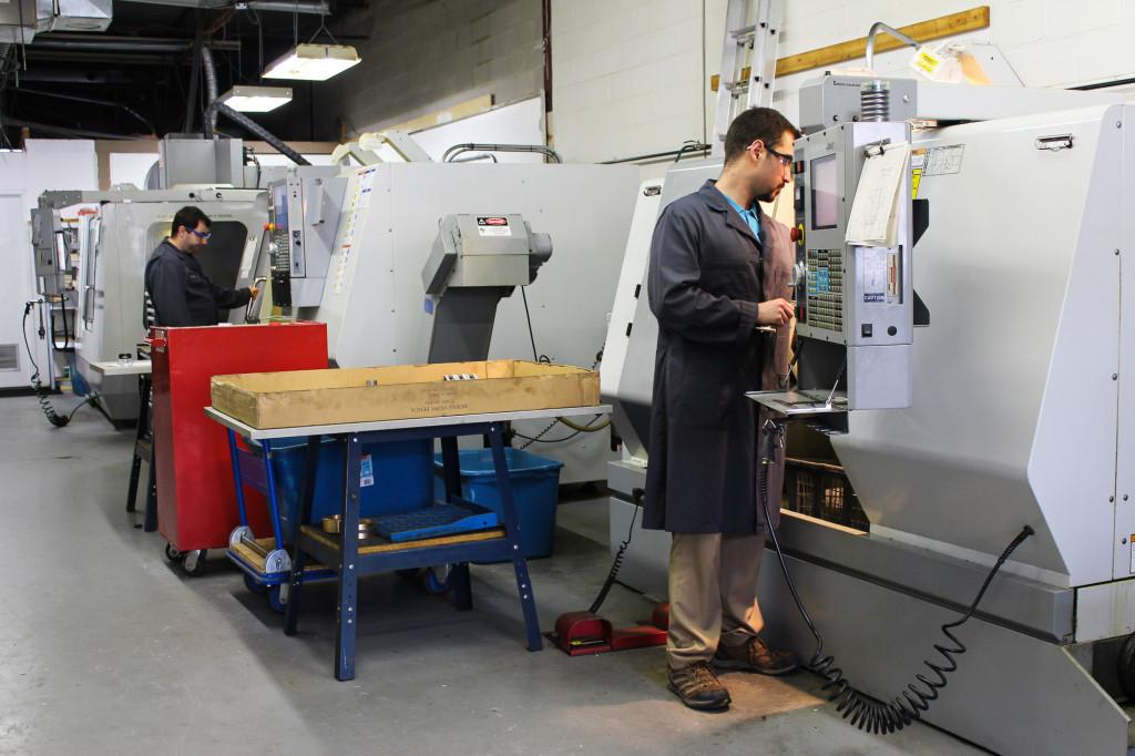 S H Precision Inc CNC Machining Shop-7